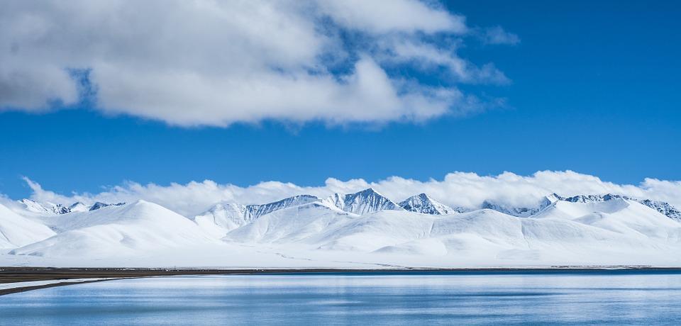 paysage en acrtique