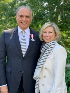 Calin and Elaine Rovinescu