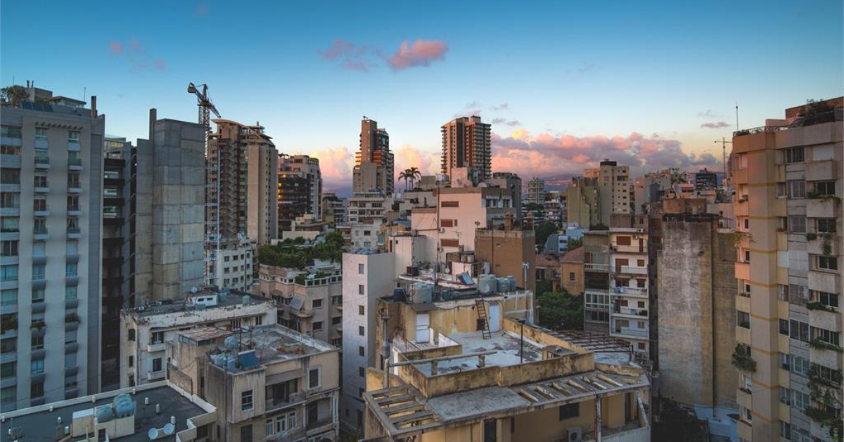 Buildings in Beirut