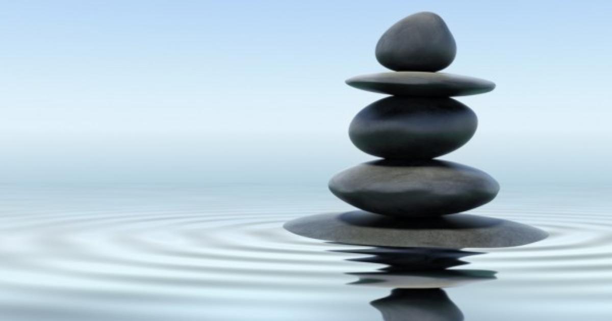 Un tour de pierres sur l'eau