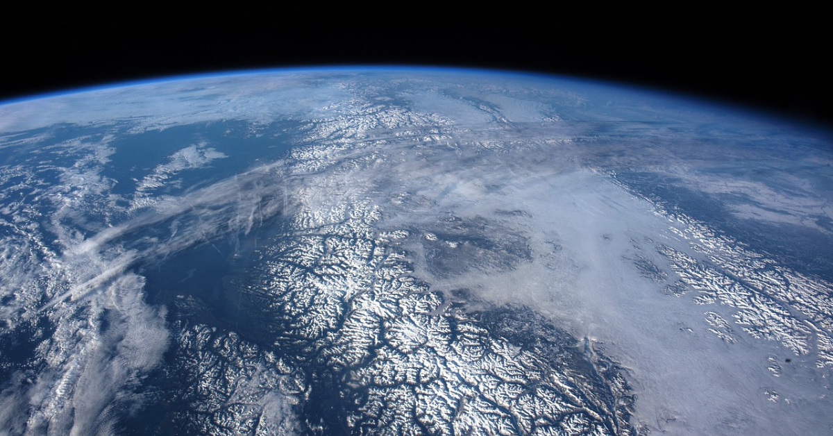 A part of the Earth seen from space
