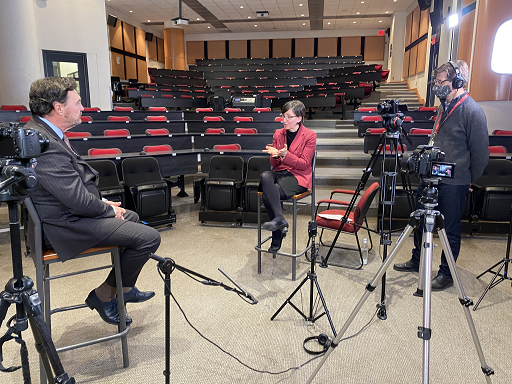 Interview for a video