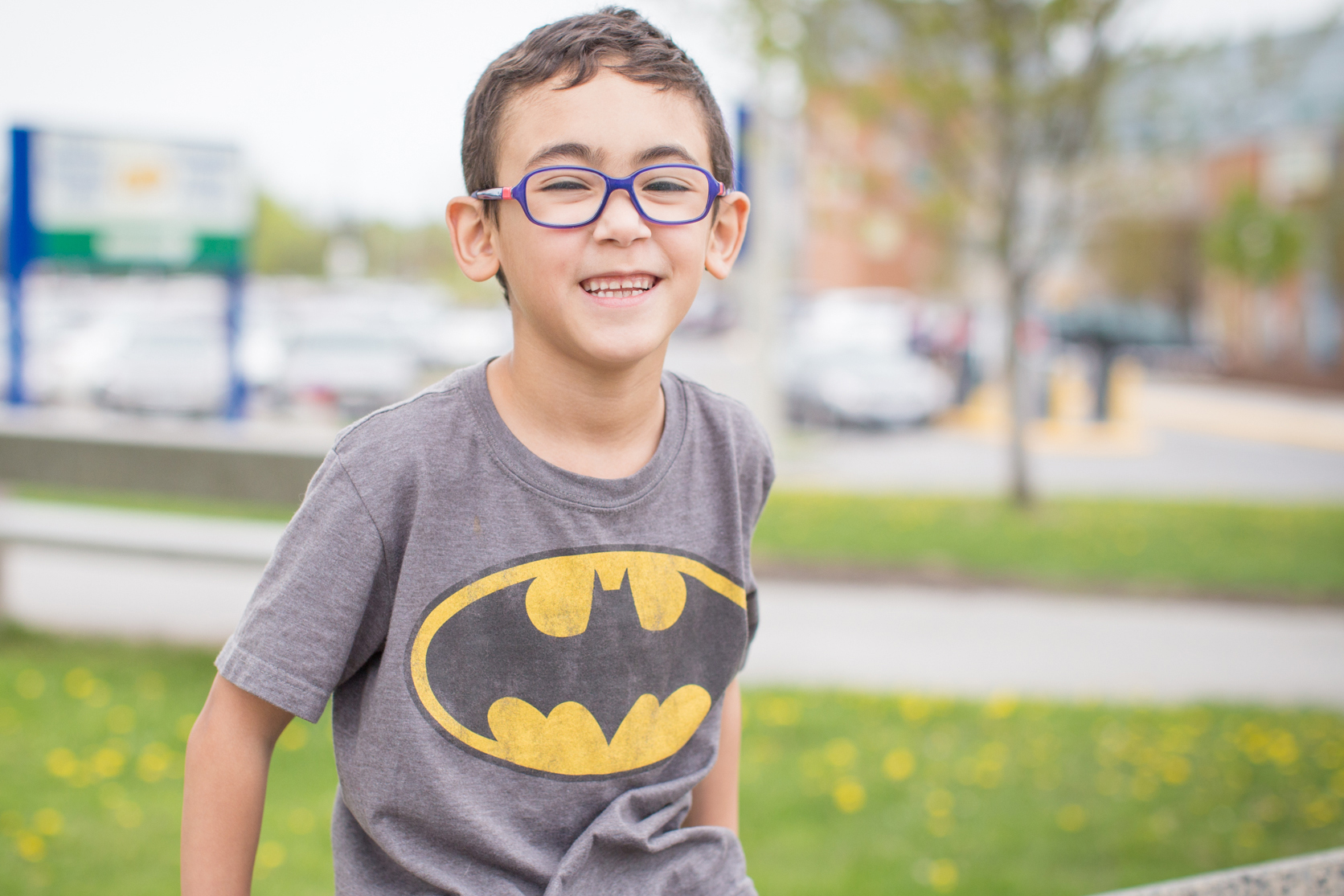 Child affected by Crohn's disease