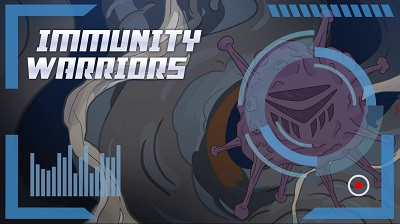 Immunity Warriors comic book / Bande dessinée Immunity Warriors