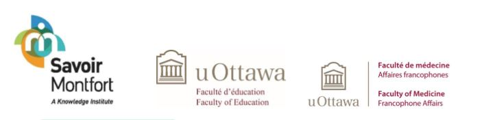 Logos from uOttawa and ISM