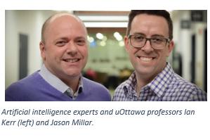 AI experts Ian Kerr and Jason Millar