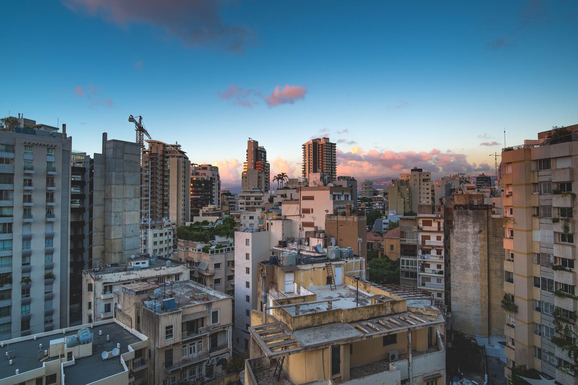 vue de Beyrouth au Liban