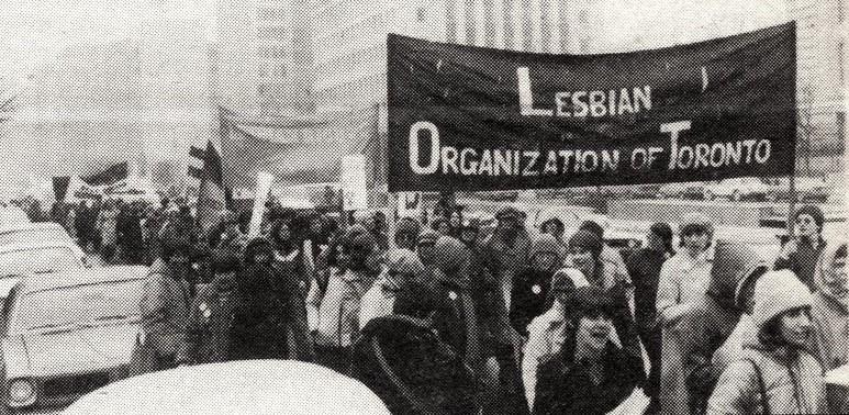 photo de l'organisation des lesbiennes de Toronto