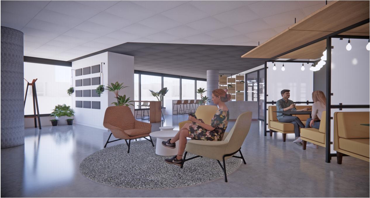 salon de réception Hub350